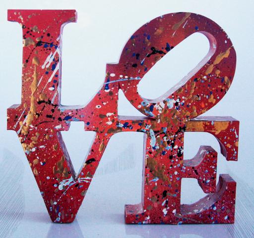 SPACO - Sculpture-Volume - LOVE street art