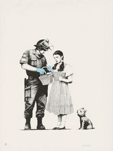 BANKSY - Estampe-Multiple - Stop And Search