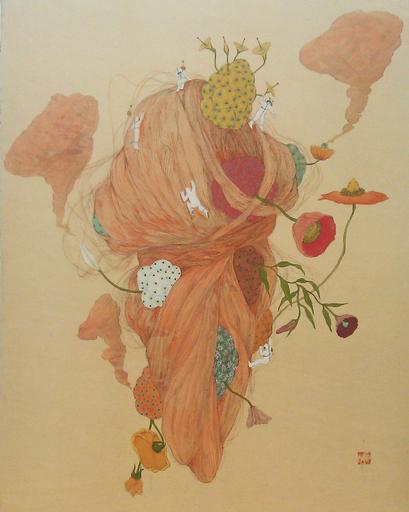 Mari ITO - Painting - Origen del deseo - Los malos deseos