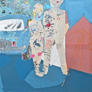 ZEWOOD - Painting - sans titre 3 (Fin de Vacances)