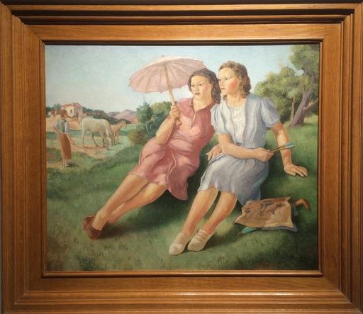 Xavier NOGUES - Painting - Señoritas