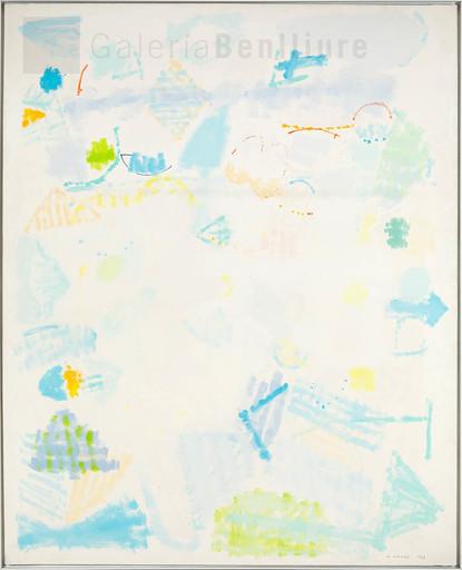 Manuel HERNÁNDEZ MOMPO - Pintura - Desnudos al sol en un paisaje