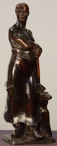 Franz IFFLAND - Sculpture-Volume - The Smith