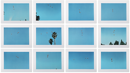 John BALDESSARI - Print-Multiple - Throwing Three Balls in the Air to Get a Straight Line