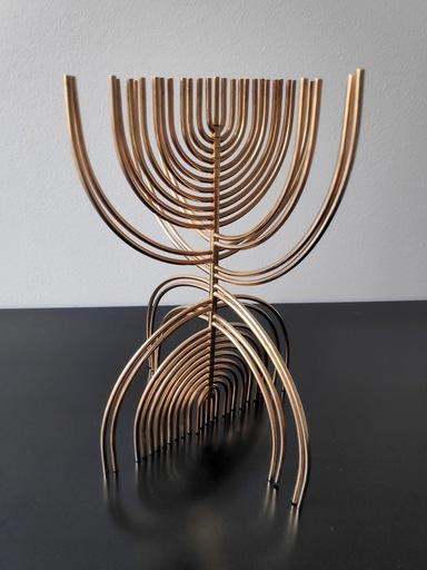 Yaacov AGAM - 雕塑 - Menorah