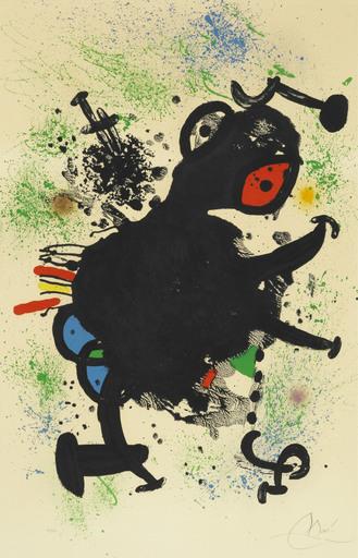 Joan MIRO - Stampa Multiplo - La Rhinocérine