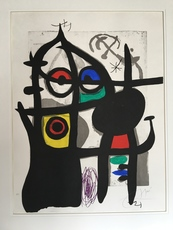 Joan MIRO - Print-Multiple - La Captive