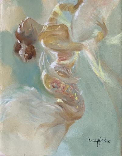 余龍義 - 绘画 - Pastel Dancer