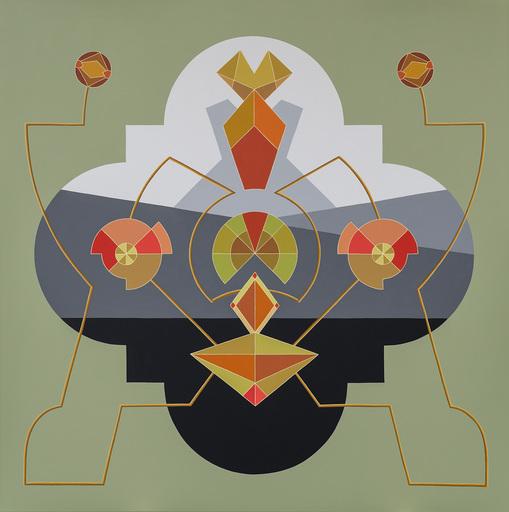 Enrique Rodriguez GUZPENA - Painting - Ramo minero