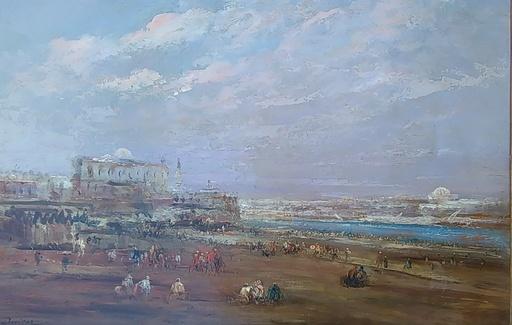 Édouard-Jacques DUFEU - Painting - Vue du Caire
