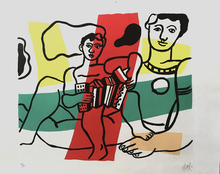 Fernand LÉGER (1881-1955) - L'Enfant a L' Acordion