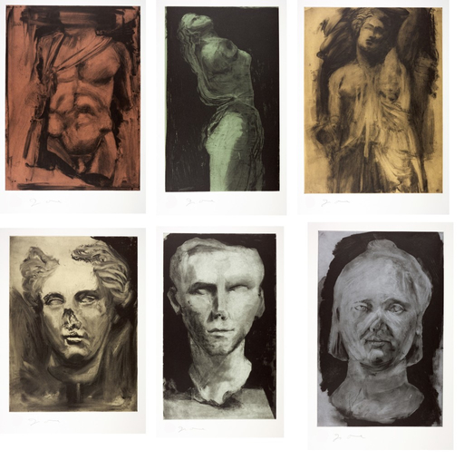 Jim DINE - Stampa-Multiplo - Glyptotek (set of 6 works)