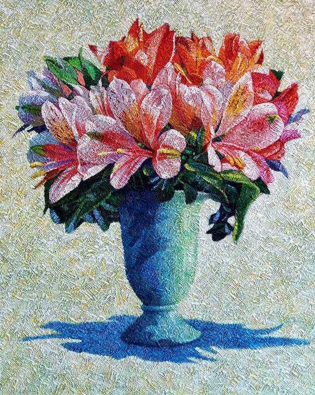 Yves CLERC - Painting - N°372