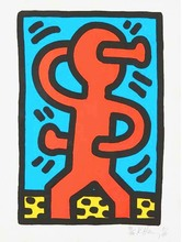 Keith HARING (1958-1990) - Untitled 1987 (Standing Man from Suite of 4)