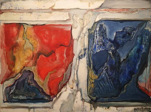Philippe HOSIASSON - Painting - Rouge et bleu