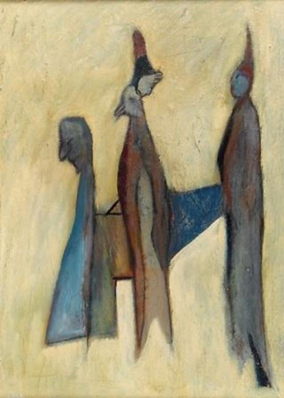 Osias HOFSTÄTTER - Painting - Figuers