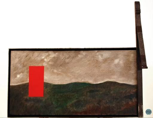 Mimmo PALADINO - Gemälde - La battaglia
