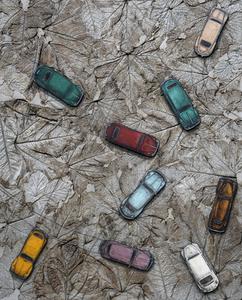 LEVALET - Painting - Traffic