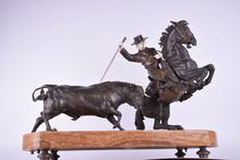 Bruno ZACH - Sculpture-Volume - Torero a Caballo