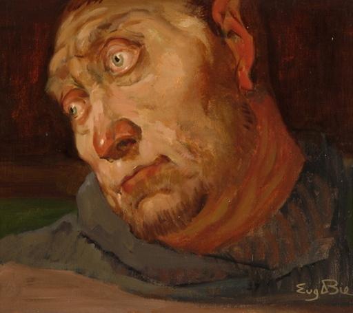 Eugène DE BIE - Peinture - Le Désespoir