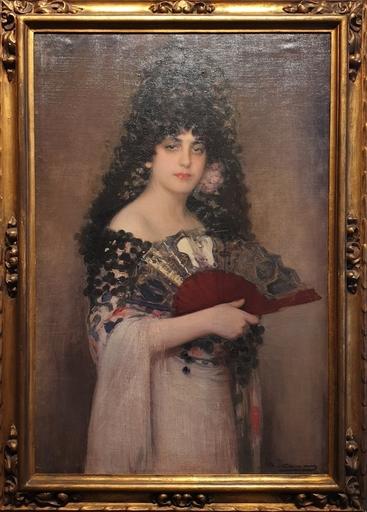 Ramón CASAS Y CARBO - Painting - Manola