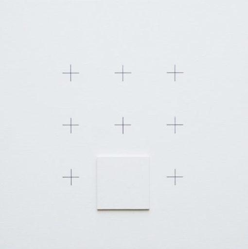 Sato SATORU - Peinture - Hommage au carré - XLVII