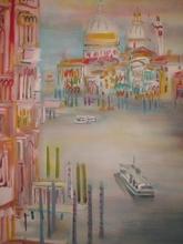 Blasco MENTOR - Grabado - Venise,1989.