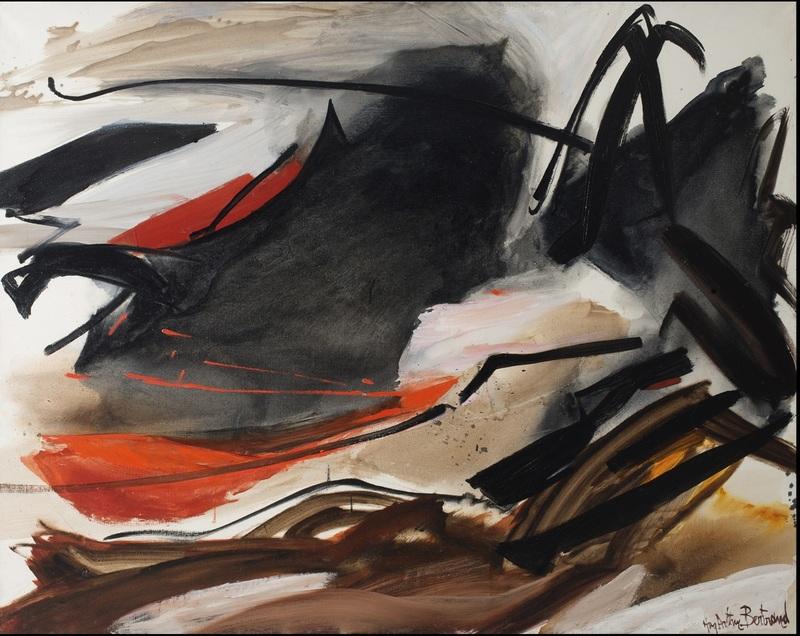 Huguette Arthur BERTRAND - Painting - Cela qui gronde