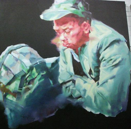 JIANG BO - 绘画 - Homecoming