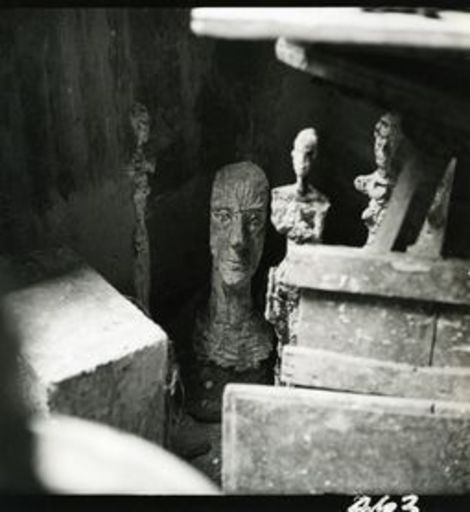 Herbert MATTER - Fotografia - Giacometti's Studio, Paris