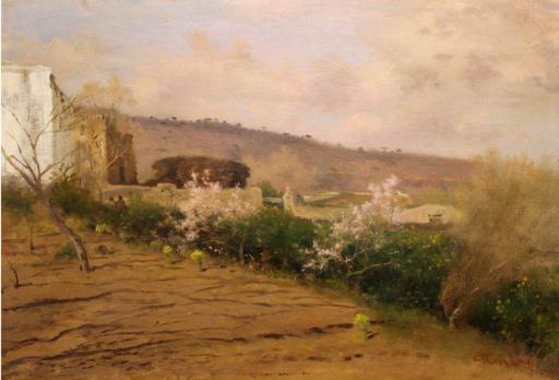 Federico ROSSANO - Pintura - Primavera