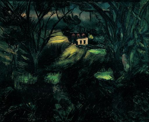 Henri LE FAUCONNIER - Painting - Sousbois