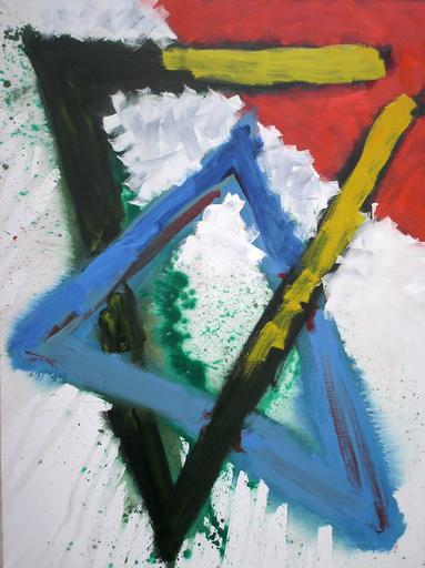 Istvan NADLER - Peinture - Ohne Titel