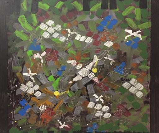 Gastone BIGGI - Peinture - Voli di periferia