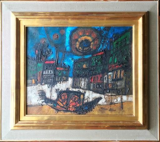 Théo TOBIASSE - Painting - Venise bleue