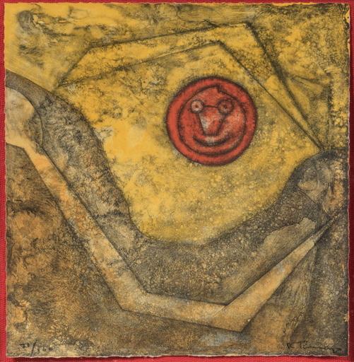 Rufino TAMAYO - Estampe-Multiple - Sol feliz