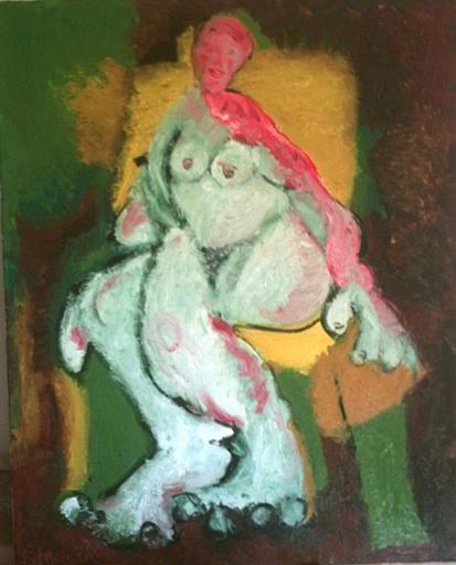 Bernard MOREL - Painting - LE MODELE