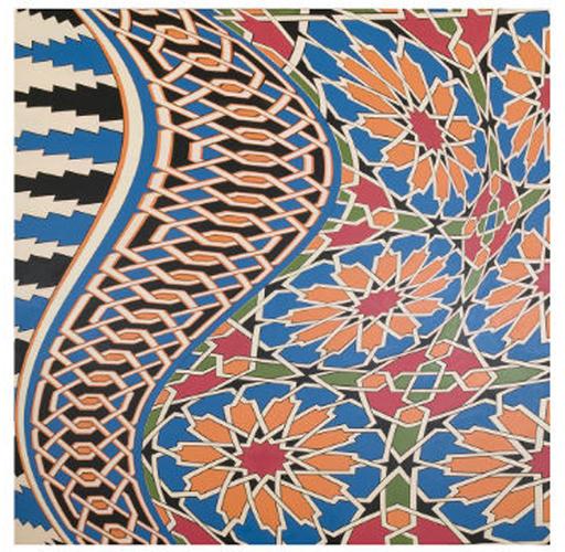 Laila SHAWA - Painting - Andalucía 1 (Sarab series)