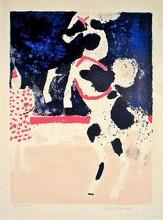 安德烈·布拉吉利 - 版画 - Cheval de cirque, 1965