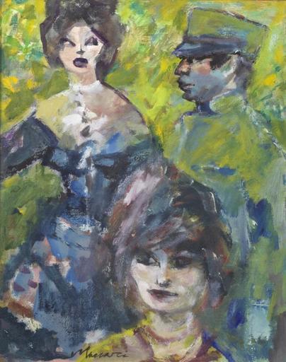 Mino MACCARI - Pintura - Senza titolo