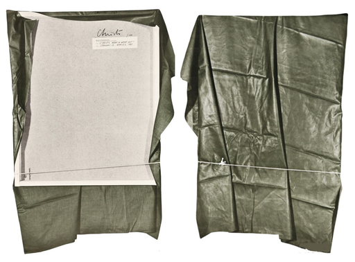 CHRISTO - Sculpture-Volume - Wrapped painting