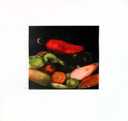 Donald SULTAN - Estampe-Multiple - Peppers
