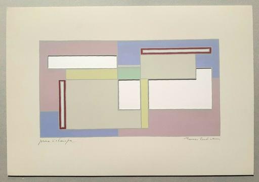 Mario RADICE - Druckgrafik-Multiple - Composizione Tav. 8
