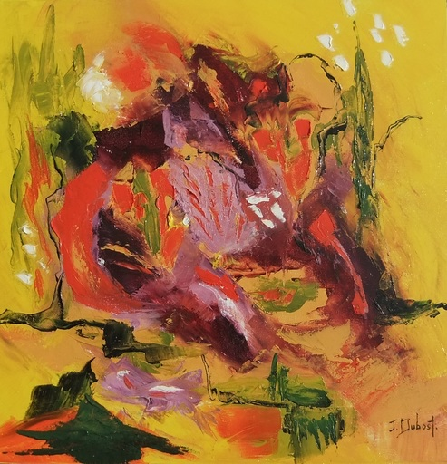 Josette DUBOST - Pittura - Nature Heureuse