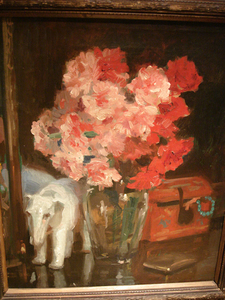 Georges JEANNIN, Roses et elephant