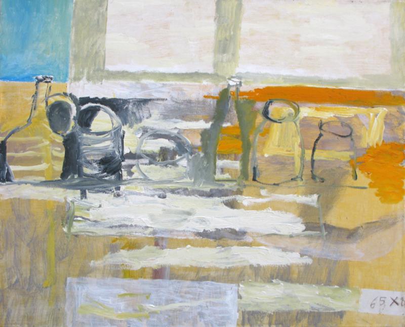 Zurab GIKASHVILI - Painting - Sill life