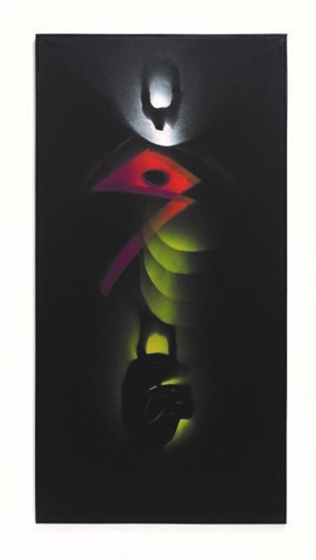 Jean TRIFFEZ - Pittura - Espace quadratique