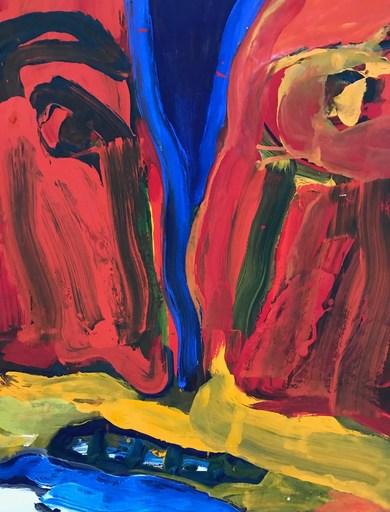 Bengt LINDSTRÖM - Painting - untitled