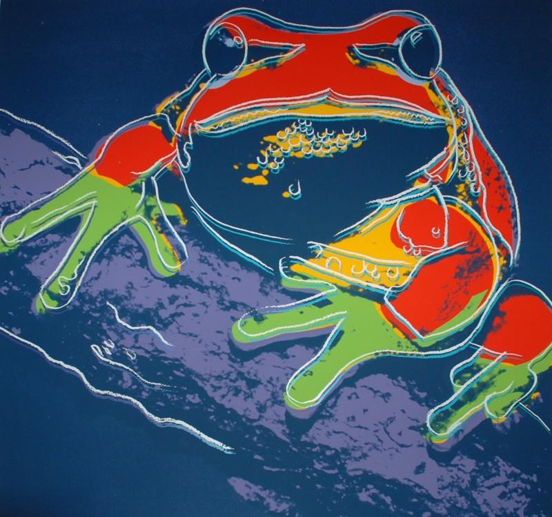 安迪·沃霍尔 - 版画 - Pine Barrens Tree Frog