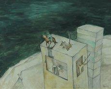 Novak BUBANJA - Peinture - Untitled